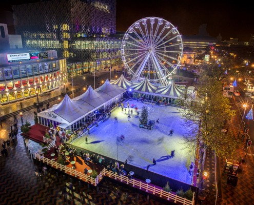 ice skate birmingham german market