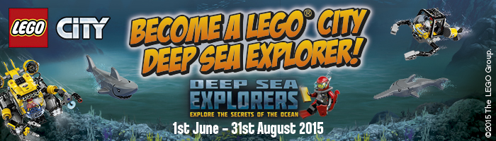 LEGO City Deep Sea Explorer at Birminghams National Sea Life Centre - 1st June - 31st August