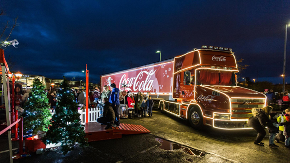 Coca Cola Christmas Truck Tour