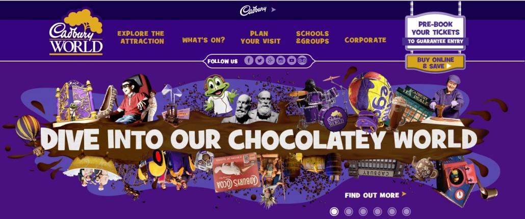 Cadbury World Christmas 2018