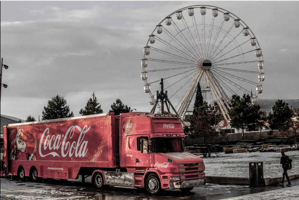 Coca-Cola Christmas Truck Birmingham