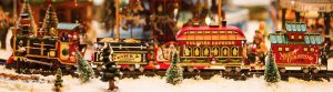 christmas toy train
